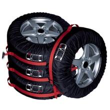 4 шт. запасное колесо Чехол Ткань Оксфорд зимой и летом автомобильных шин сумка для хранения автомобильные шины аксессуары колеса prot