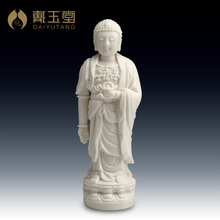 Dai Yutang ceramic hand Dehua white porcelain crafts/State Lotus Buddha, Buddha like D03-006