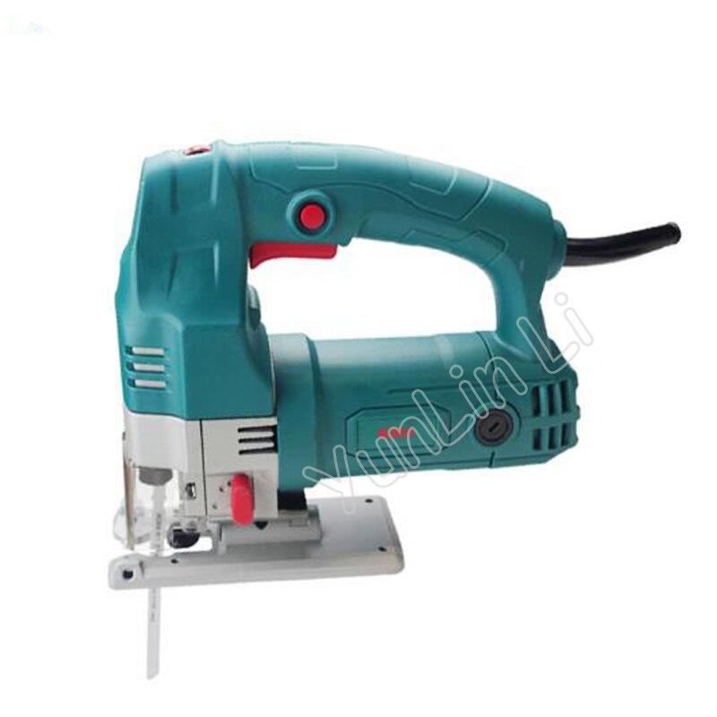 Scie à courbe électrique scie à bois scie sauteuse multi-fonctionnelle à main scie à bois menuiserie scie sauteuse outils électriques traitement du bois