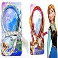 Frozen Elsa Anna nieve niños de la princesa de la joyería Frozen peluca cintas para el pelo trenzas Edsa nueva joyería accesorios para muñecas