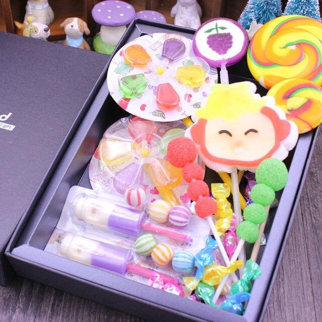 Poważne 500g Kreatywny Pudełka Cukierków Ponadgabarytowych Handmade CQ52
