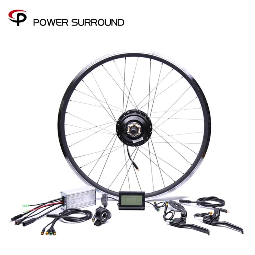 2019 Waterproof Electric Bike Kit 48v500w Shengyi Rear