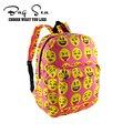 Hot sales waterprrof emoji kids backpack children school student bag college high school bag for teenage girls oxford laptop bag