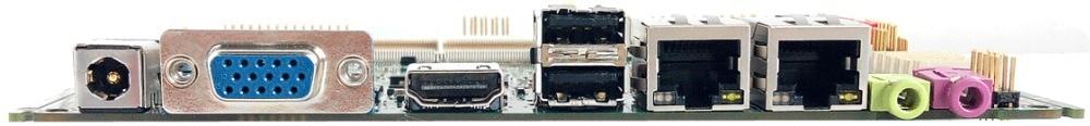 Dual Processor Mini Itx Motherboard With 2 Lan Ports Gateway Motherboard