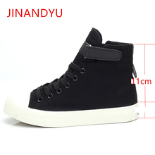2019 New Spring Autumn Women High Top Canvas Platform Sneaker Girls Fashion Lace Up Casual Shoes Leisure Female Sneakers