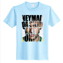 Fans Star Neymar Cosplay T-shirt