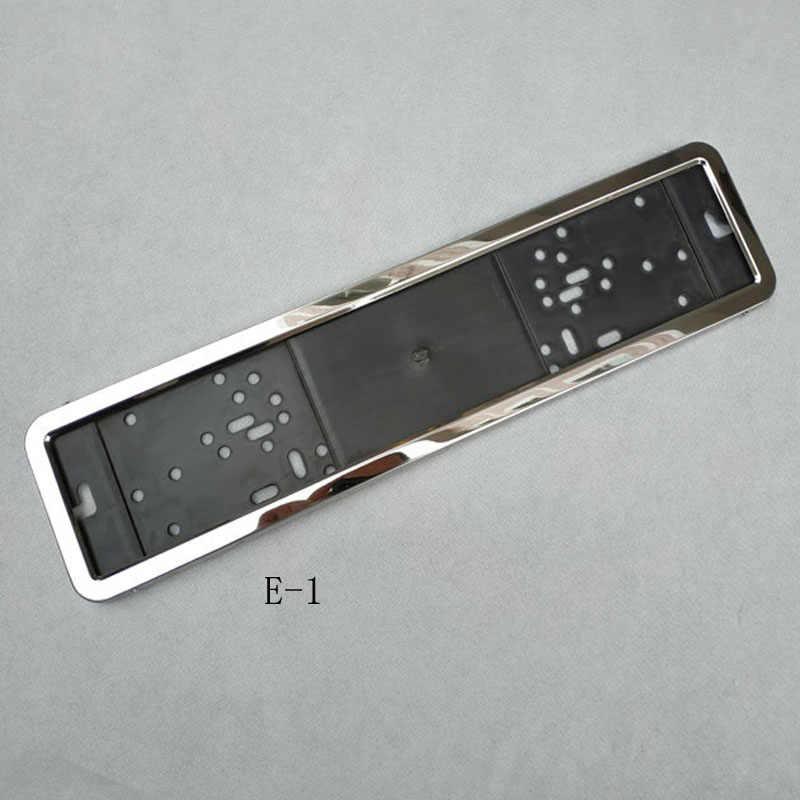 1 adet Araba plaka çerçevesi metal ve Plastik çerçeve Araba plaka çerçevesi plaka Tutucu Fit AB