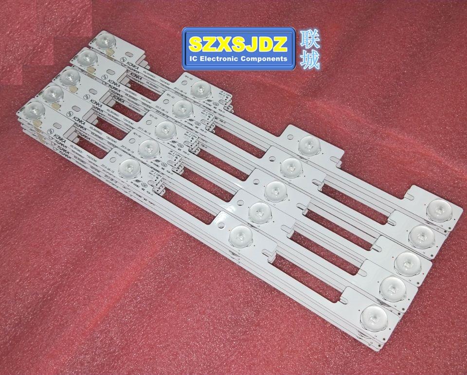 high quality New 100pieces LED lighting hook for Konka KDL39SS662U 35018339 327 mm 4 LEDs 1