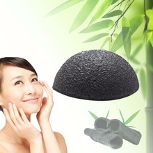 1pcs Cleansing Sponge Green Pink White 5 color available Natural Konjac Konnyaku Facial Puff Face Wash