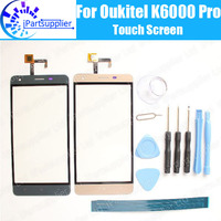 Oukitel K6000 Pro Touch Screen Digitizer 100 Guarantee Original Digitizer Glass Panel Touch Replacement For Oukitel