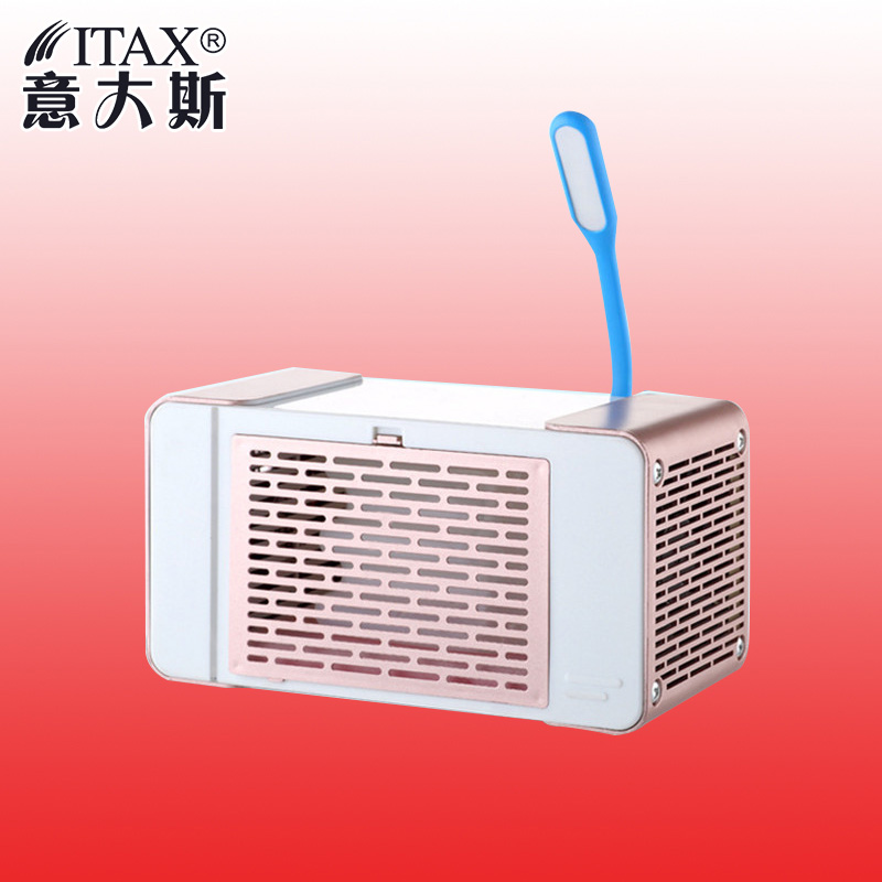 ITASXC-01 USB Mini Air Cooler Home Office desktop computer desk small fan student dormitory mute electric cooling fan computer cooler radiator with heatsink heatpipe cooling fan for hd6970 hd6950 grahics card vga cooler