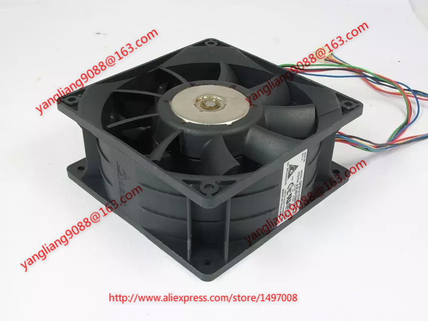 Free Shipping For Delta GFB1212VHG, -8C66 DC 12V 3.40A 8-wire 8-pin connector 110mm 120x120x50mm Server Cooling Square fan free shipping for delta afc0612db 9j10r dc 12v 0 45a 60x60x15mm 60mm 3 wire 3 pin connector server square fan