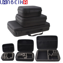 Lanbeika L/M/S размеры Продвижение Путешествия Коробка для хранения Коллекция сумка для GoPro Hero 6 5 4 3 + 3 SJCAM SJ4000 SJ5000 M20 SJ6 SJ7