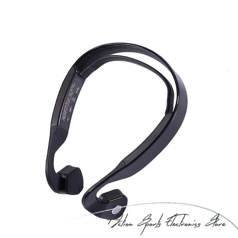 Smart Bone Conduction Casque Sans Fil de Sport Écouteurs Stéréo Écouteurs Bluetooth Casque Avec Micro et la Boîte de Détail Pour Téléphones
