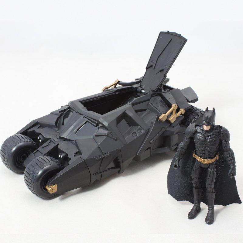 2017 Moda Hot Sale Batman Batmobile Tumbler Brinquedos Anime Figuras de Ação Dolls Ano Novo Presentes de Aniversário Para Crianças Crianças