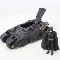 2017 Fashion Hot Sale Batman Dolls Tumbler Batmobile ToyS Anime Action Figures New Year Birthday Gifts For Children Kids