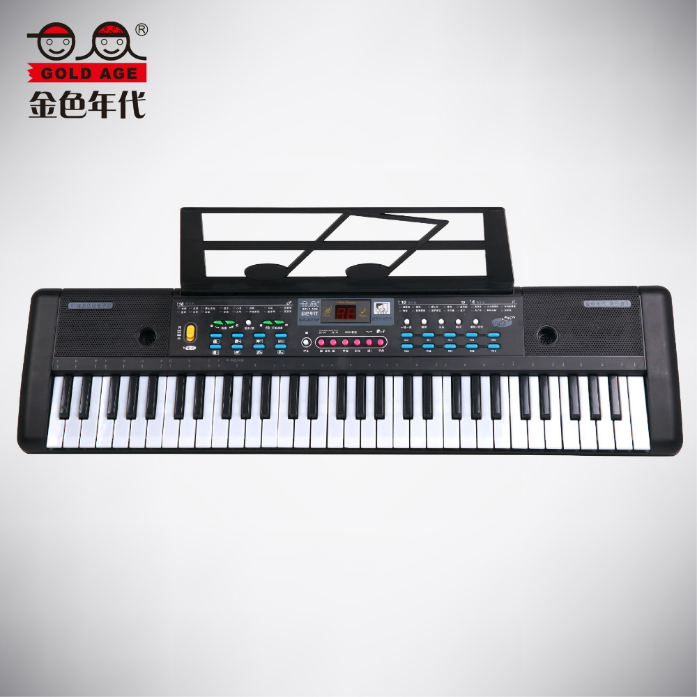 61 Keys Electric Organ Music Keyboard Piano With Microphone Children Musical Instrument