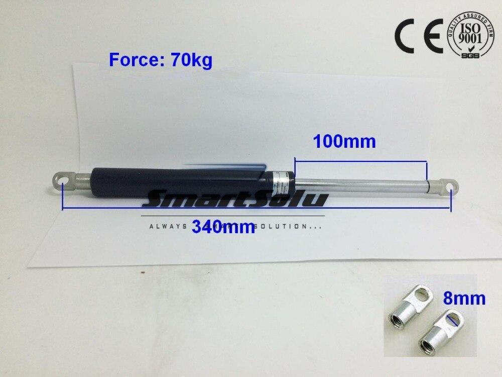 Free Shipping 70kg/154lbs Force Gas Strut Shock Spring Lift Damper 2qty front hood shock damper strut spring lift support for chevrolet saturn vue