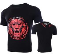 Man Short Sleeve T Shirt Legalize Mma Fight Tops Fightwear Man Tops