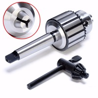 New MT2 Mini Drill Chuck Arbor Self Tighten 5 64 To 1 2 Carbide Steel Lathe