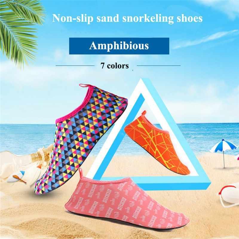 Ademend Strand Water Sport Anti-slip Sokken Onderwater Snorkelen Duiken Surfen antislip Quick droge Schoenen