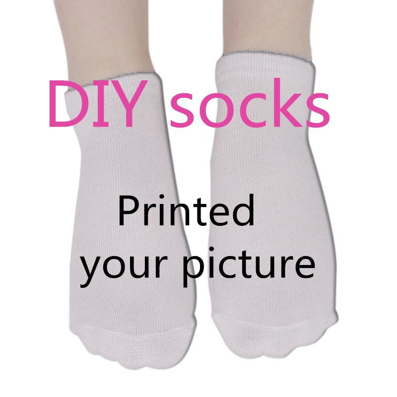 Drop Shipping Suppliers For Funny Casual Socks DIY Custom Design Men/Women Cotton Socks Factory Custom Made 3D Print 8DW00