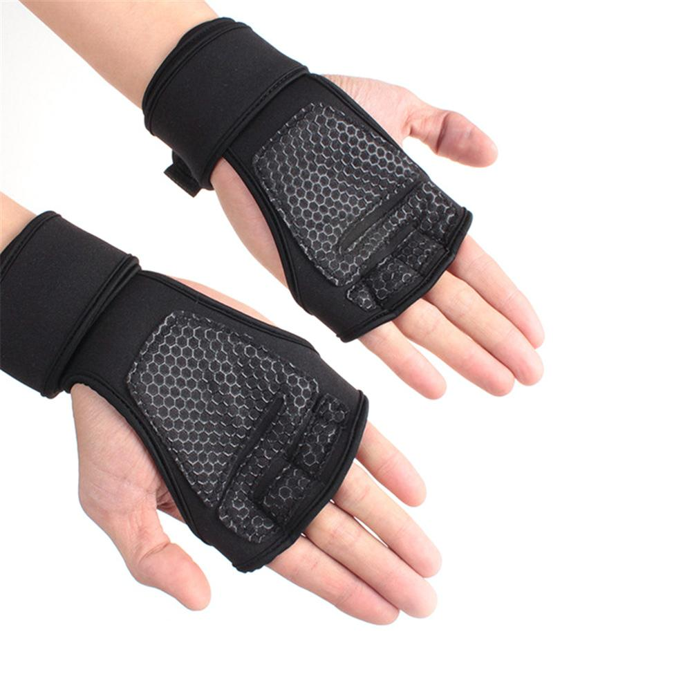 New Cycling Gloves Bicycle Half Finger Bike Gel Silicone Weight lifting Sports