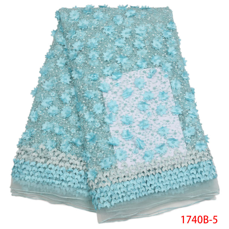 Latest African Laces 2018 Nigerian Lace 3d Lace Fabric African French Laces Fabrics High Quality Alibaba