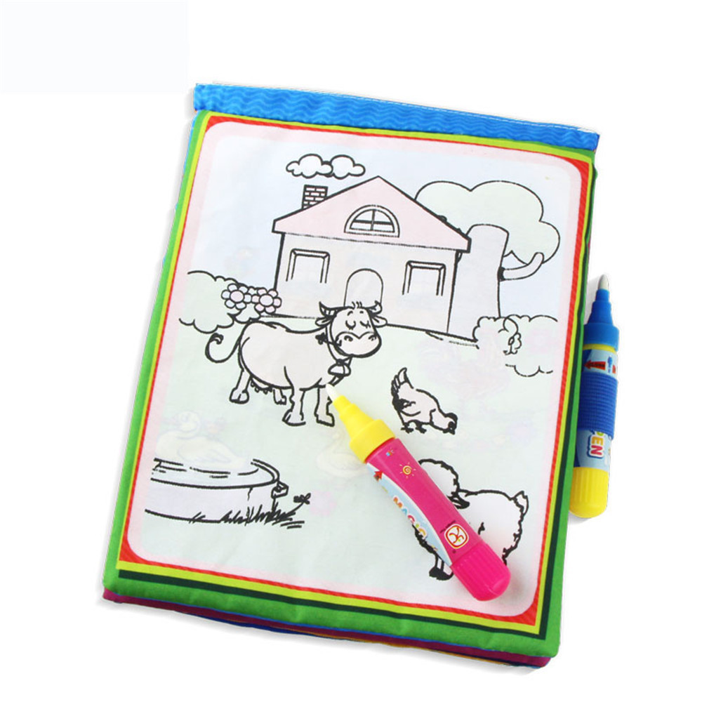 VICIVIYA-1-Pcs-New-Arrival-Coloring-book-Kids-Animals-Painting-Magic-Water-Drawing-Book-Water-Coloring-Book-Doodle-Kids-Toy-4
