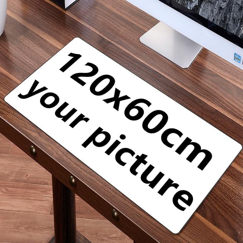 FFFAS 120x60cm 100x50cm Large Gaming Mouse Pad Mat Custom DIY Big Table Mat Cushion Keyboard Mousepad Customize Speed Gamer Game