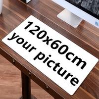 FFFAS см 100x60 см 120x50 см большой игровой коврик для мыши коврик на заказ DIY большой Настольный коврик подушка клавиатура Коврик для мыши настройк...