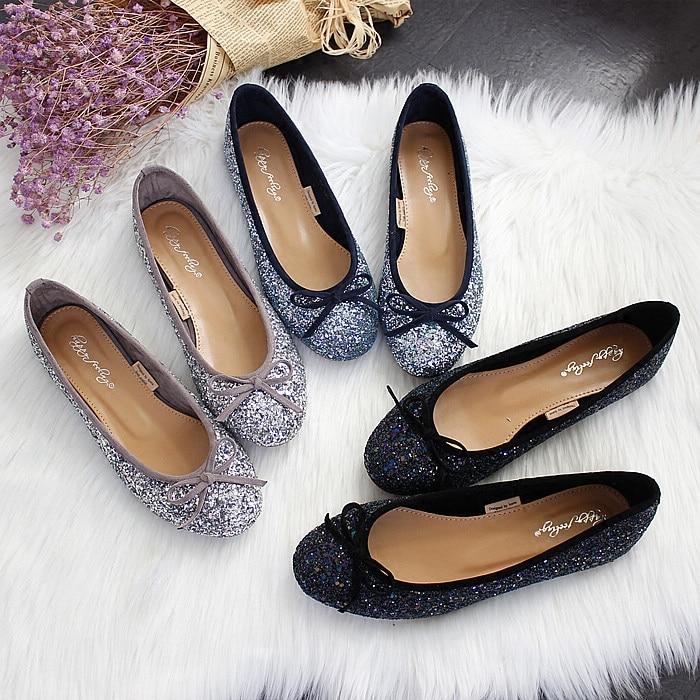 Del Banquete Lentejuelas Corea 1 Arco Ballet De Honor Primavera 3 Dama Zapatos Sparkle 2016 2 Planos TqxwPn7aWt