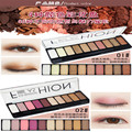 2017 Hot Sale Eye Makeup Palette Natural Fashion Make Up Light 10 Colors Eye Shadow Shimmer Matte Eyeshadow Cosmetics Set With B