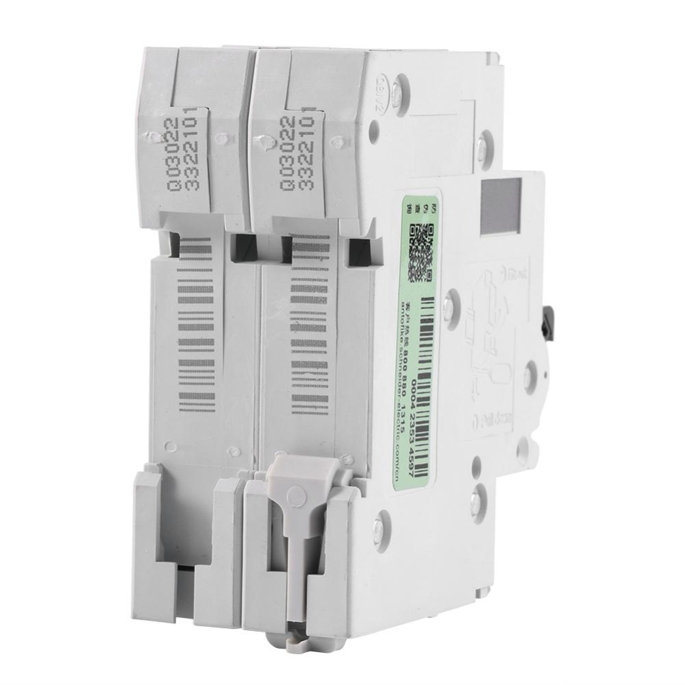 DC 250V 63A Circuit Breaker Solar Energy Switch 2 Pole Low voltage ...