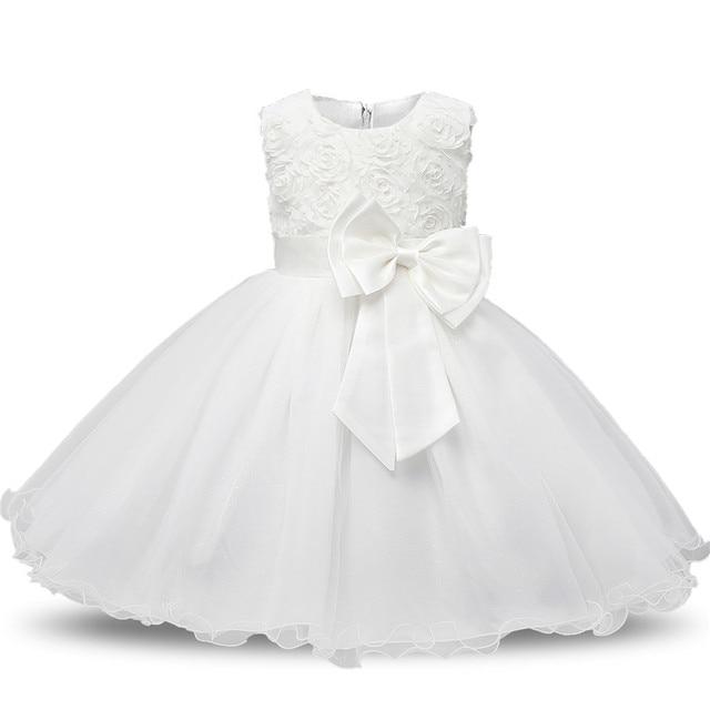 e12f02faf61 ... Princess Flower Girl Dress Summer Tutu Wedding Birthday Party Dresses  For Girls Children s Costume Teenager Prom ...