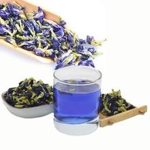 Новые продукты кухонные принадлежности для выпечки 500 г Clitoria Terna чай. Тайский голубой горох бабочки чай витамин а товары для здоровья