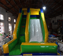 Outdoor inflatable bouncer slide high quality air slide  цена 2017