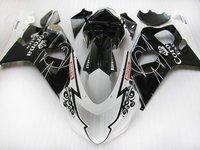 Fairings set for SUZUKI 2004 2005 GSXR 600 R750 sports fairing kit 04 05 GSXR750 GSXR 600 K4 K5 black corona ZT36s