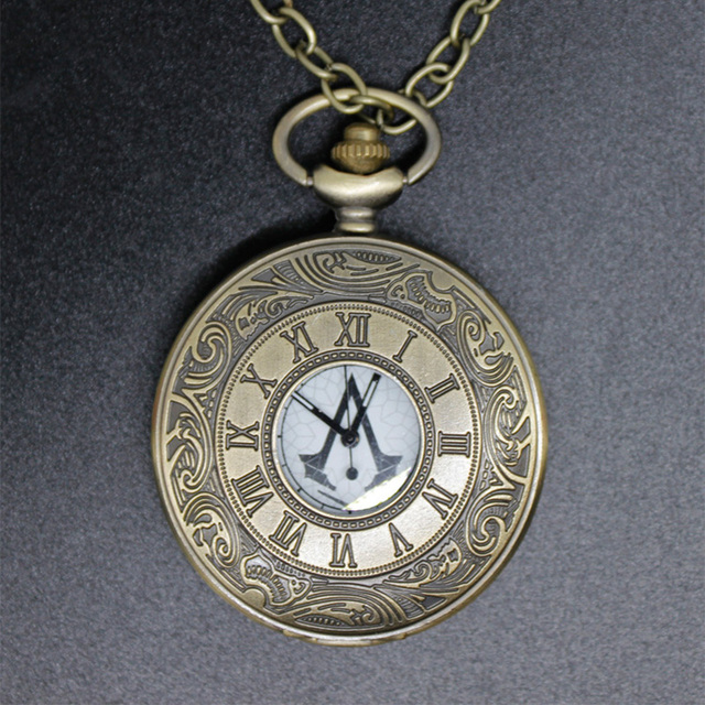 Top Nouveau film assassin creed montre de poche connor avait la poche  FE79