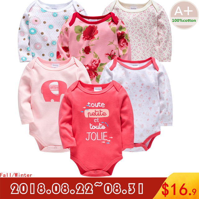 e4f6e1919493 2018 autumn baby boy girl clothes cotton full sleeve baby clothing romper 0  3 6 9 12 months newborn baby clothes