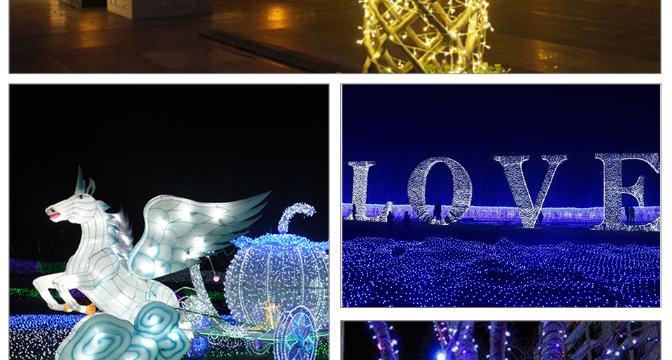 Peach Flower LED Solar Lamp Fairy String Light Outdoor Decoration Holiday Party Lights For Garden Christmas Tree Lawn Landscape (18)