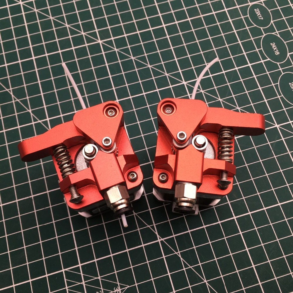Nomotor aluminum left right hand Btech dual drive bowden extruder CR 10 Ender series 3D printer