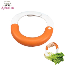 Baycheer Creative Round Vegetable Chopper Cutter Salad Shears Kitchen Tools