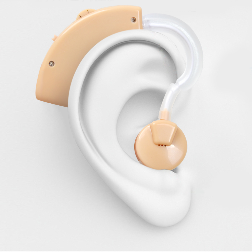 Pequeo Audfono Audiphone Ajustable Amplificador De Sonido Personal Cheap Hearing Aid Mini Digital Tone Adjustable Ear Device Invisible Small Back Voice Amplifier With Battery