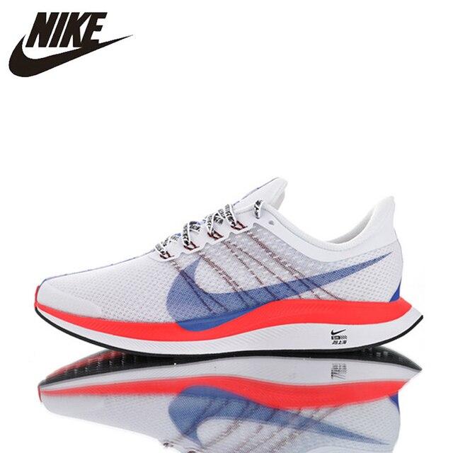 Original Nike Zoom Pegasus Turbo 35 hombres de zapatos resistente al desgaste de absorción de choque ligera y transpirable BQ6895-100