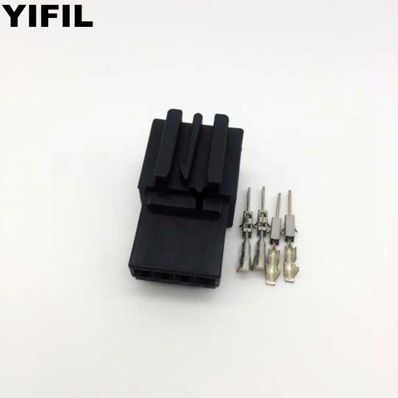 50pcs lot 4 Pin Way Male Wiring Plug Terminal Connector For Car Tail Lamp Volkswagen MAGOTAN
