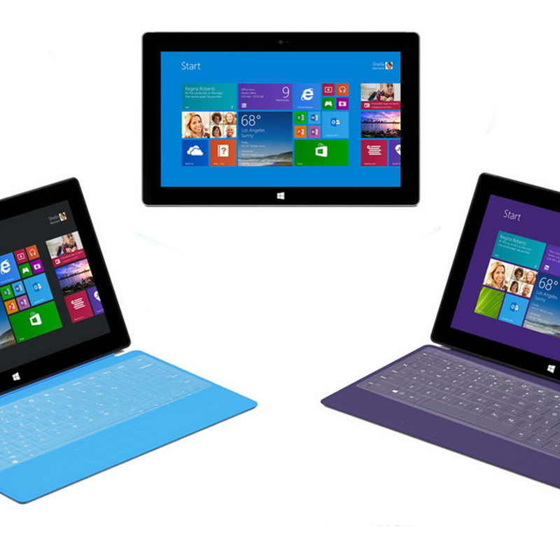 Keyboard TPU Skin Cover Film Protector for Microsoft Surface Pro3 Pro2