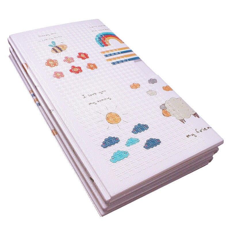 Tapis de jeu pour bébé XPE Puzzle en mousse tapis de sol pour enfants tapis rampant pour chambre de bébé tapis pliable pour bébé tapis pour bébé - 3