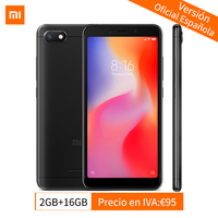 Global Version Original Xiaomi Redmi 6A 2GB RAM 16GB ROM Smartphone MTK Helio A22 Quad Core 1440x720 5.45 3000mAh 13.0MP Camera
