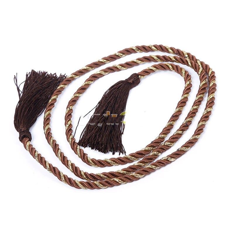 CoinBill Multicolor! Cotton Rope Tassel Curtain Fringe